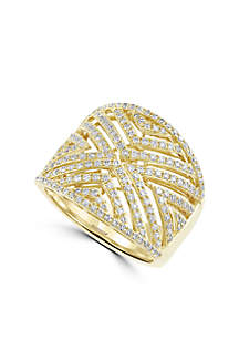 3/4 ct. t.w. Diamond Ring in 14k Yellow Gold
