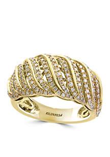 1/2 ct. t.w. Diamond Ring in 14k Yellow Gold