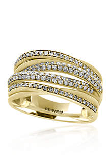 Effy® Diamond Ring in 14K Yellow Gold