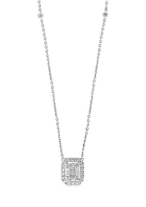 Effy® 3/4 ct. t.w. Diamond Pendant Necklace in
