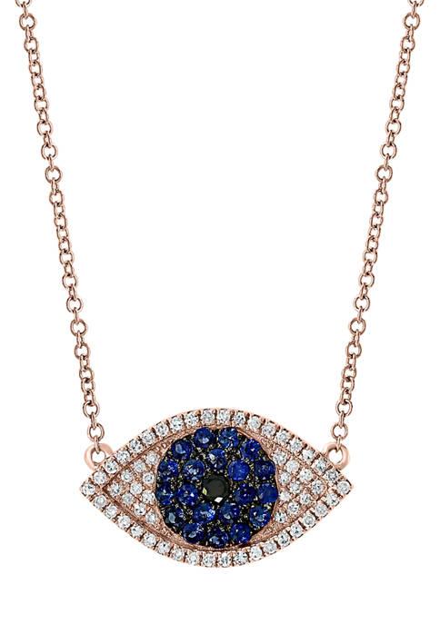 Effy® 1/5 ct. t.w. Diamond and Black Diamond