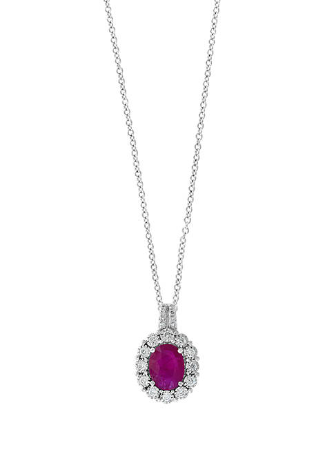 Effy® 1.90 ct. t.w. Ruby and 1/4 ct.