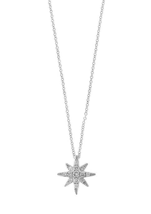 Effy® 1/4 ct. t.w. Diamond Pendant Necklace in