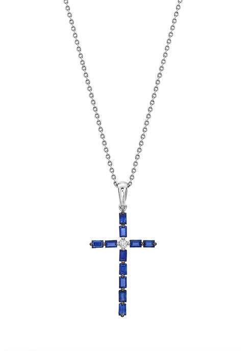 Effy® 7/8 ct. t.w. Natural Blue Sapphires and
