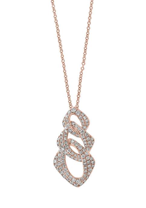 Effy® 14K Rose Gold 3/4 ct. t.w. Diamond