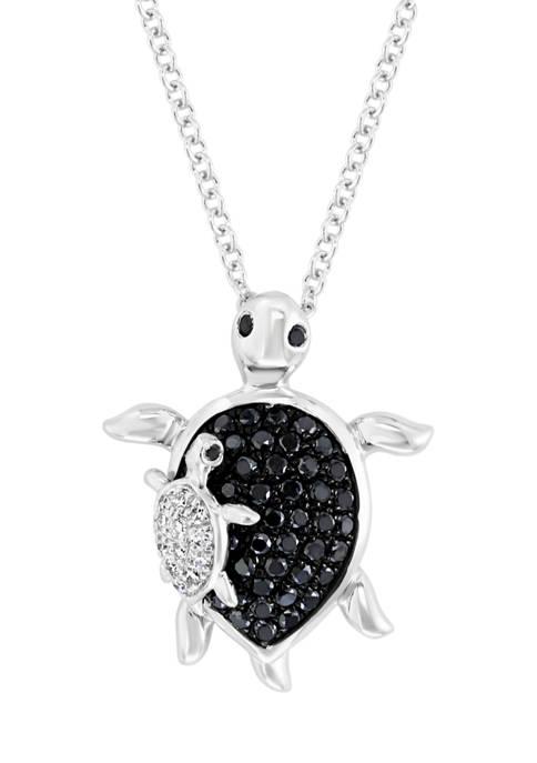 Effy® 1/3 ct. t.w. Diamond Seaside Pendant Necklace