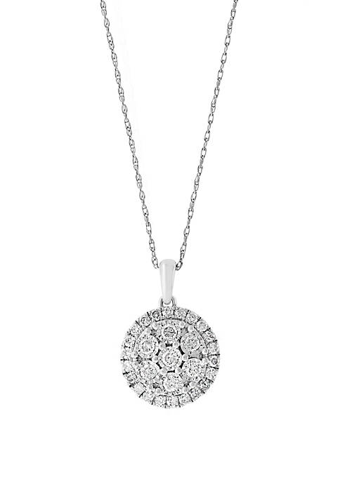 Effy® 1/2 ct. t.w. Miracle Set Diamond Pendant
