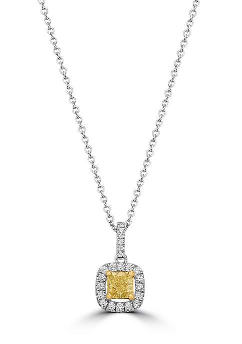 Effy® 1/2 ct. t.w. Diamond Pendant Necklace in