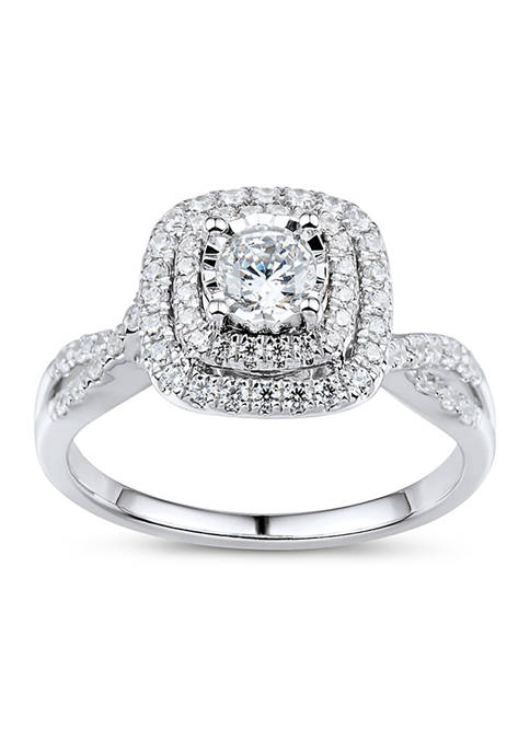 Belk & Co. 3/4 ct. t.w. Diamond Engagement