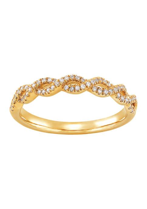 Belk & Co. 1/5 ct. t.w. Diamond Ring