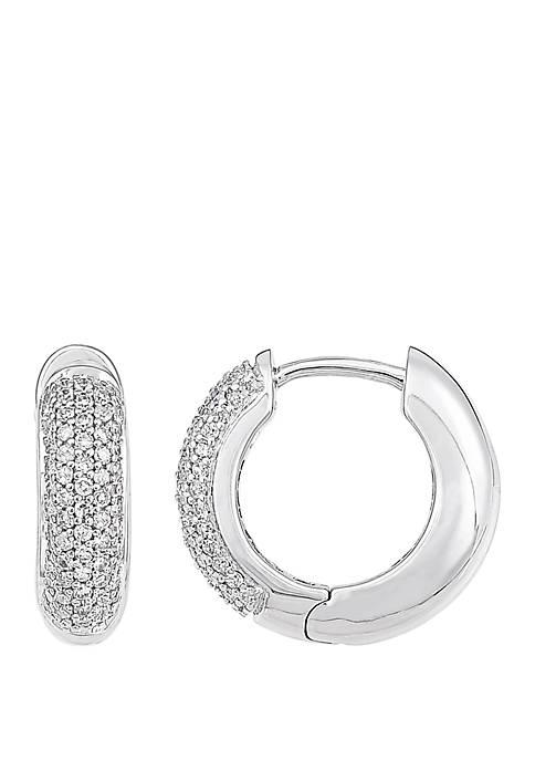 Belk & Co. 1/2 ct. t.w. Diamond Hoop