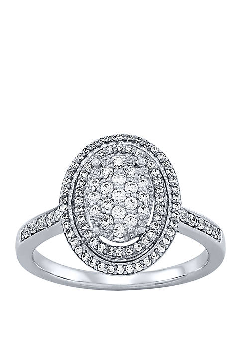 Belk & Co. 1/2 ct. t.w. Diamond Ring