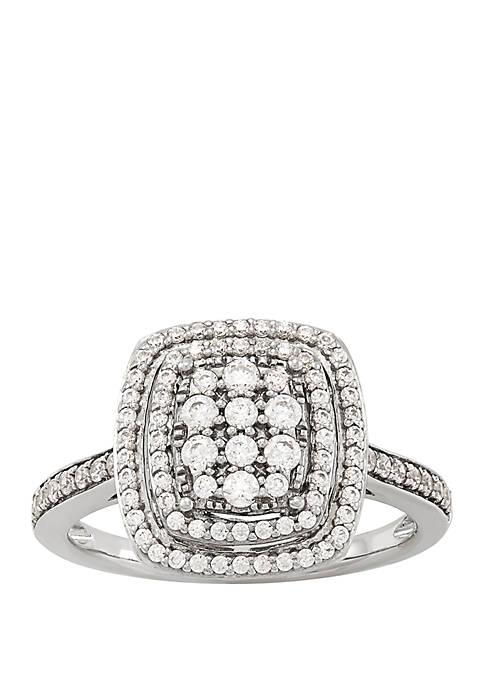 Belk & Co. 1/2 ct. t.w. Diamond Ring