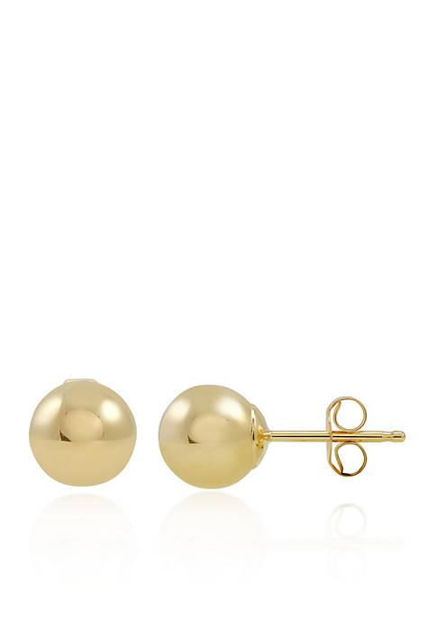 Belk & Co. Stud Earrings in 14K Yellow
