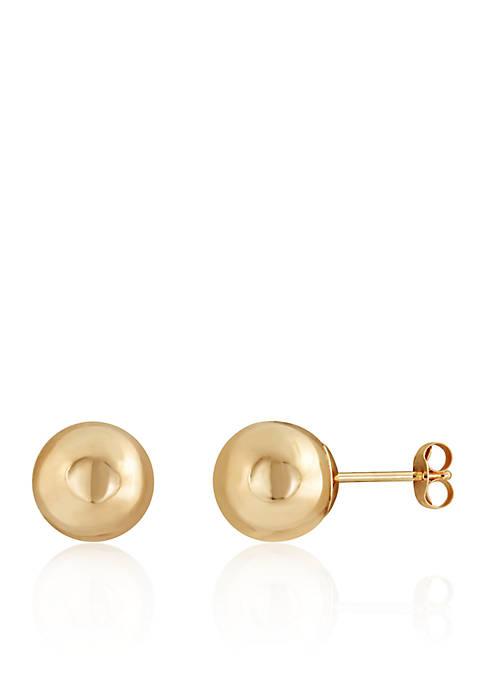 Belk & Co. Ball Stud Earrings in 14K