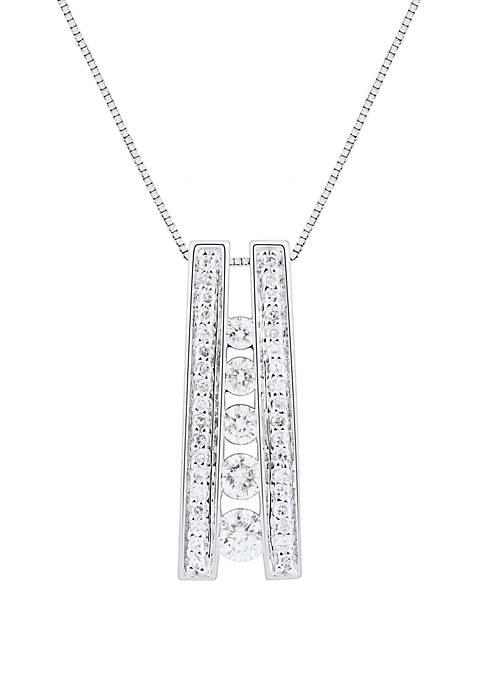 Belk & Co. 1/3 ct. t.w. Diamond Ladder