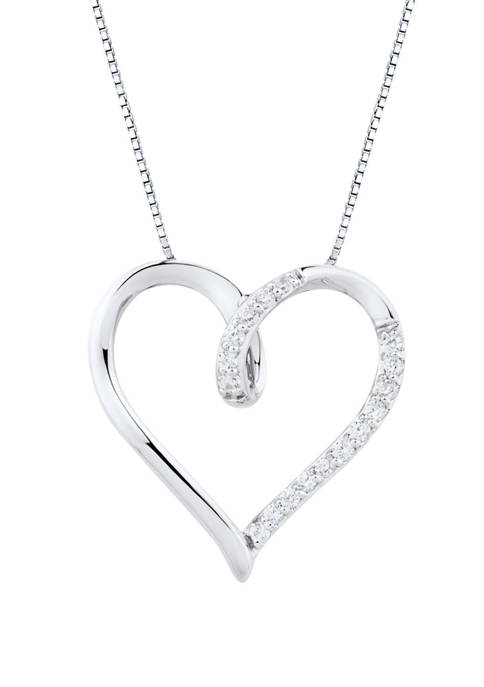 Belk & Co. 1/4 ct. t.w. Diamond Heart