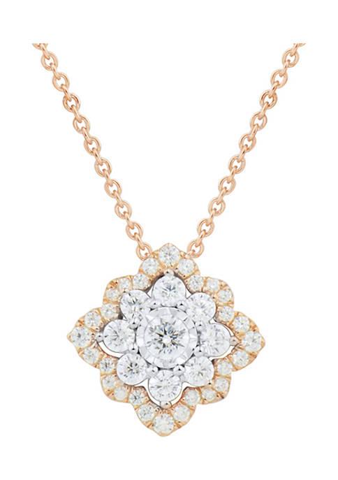 Belk & Co. 1/2 ct. t.w. Diamond Pendant
