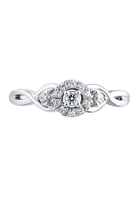 Belk & Co. 1/5 ct. t.w. Diamond Engagement