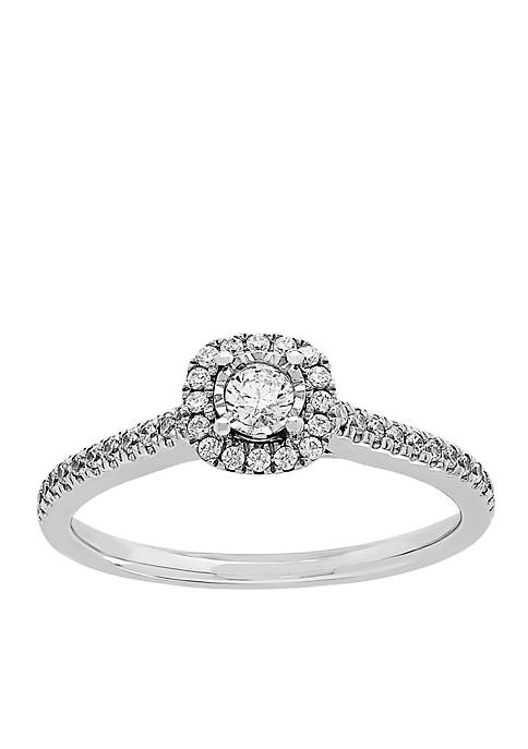 My Forever 1/4 c.t. t.w. Diamond Engagement Ring in 10k White Gold