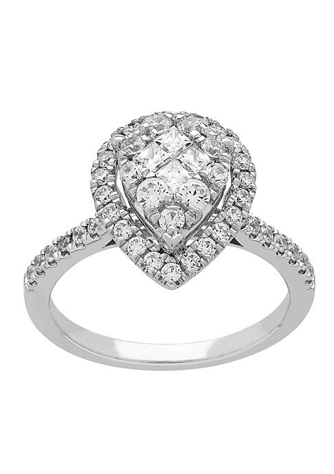 My Forever 1 ct. t.w. Diamond Engagement Ring in 10k White Gold