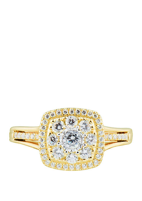 My Forever 1/2 ct. t.w. Diamond Bridal Ring in 10k Yellow Gold