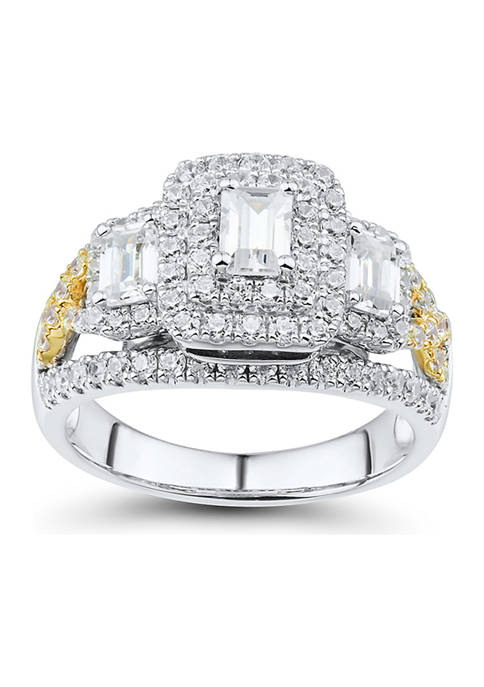 2 ct. t.w. Diamond Engagement Ring in 14K Yellow and White Gold