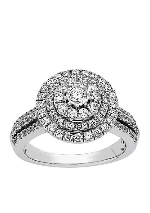 My Forever 1 ct. t.w. Diamond Composite Engagement Ring in 10k White Gold