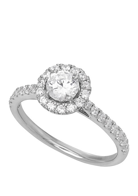 Grown With Love 1 ct. t.w. Lab Grown Diamond Engagement Ring in 14K White Gold