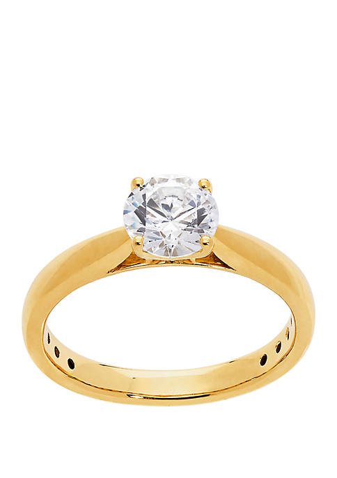 1.0 ct. t.w. Lab Grown Diamond Ring in 14K Yellow Gold