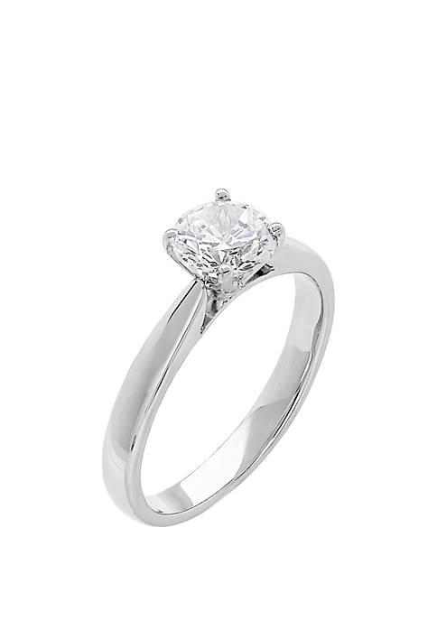 1 ct. t.w. Lab Grown Diamond Ring in 14K White Gold