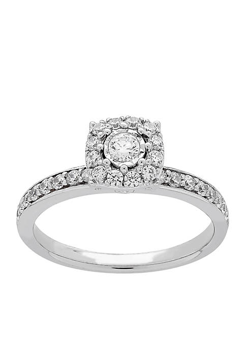 My Forever 1/2 c.t. t.w. Diamond Engagement Ring in 10k White Gold
