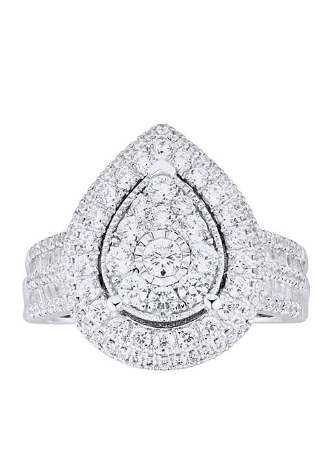 1.5 ct. t.w. Diamond Ring in Sterling Silver