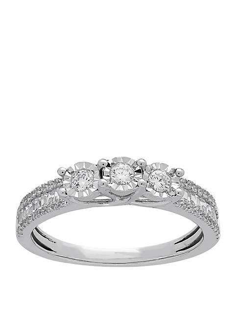 My Forever 1/2 c.t. t.w. Diamond Bridal Ring in 10k White Gold
