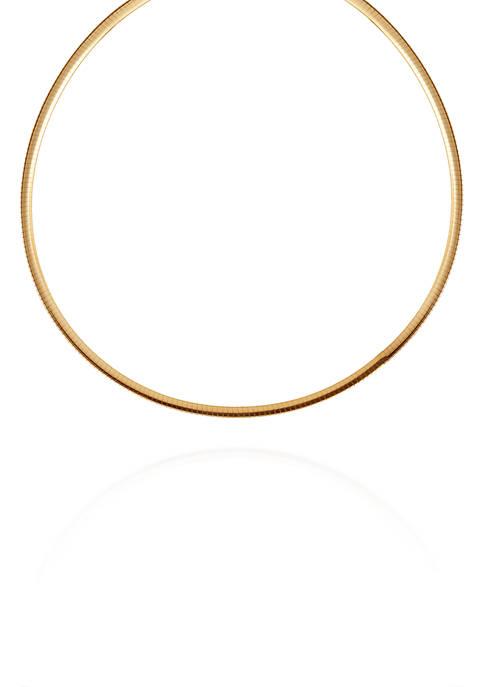 Belk & Co. Reversible Choker Necklace in Sterling