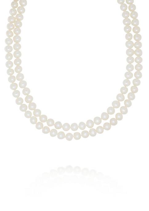 Belk & Co. Freshwater Pearl Necklace in 14k