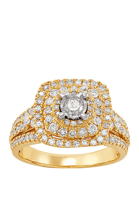 My Forever 1 ct. t.w. Diamond Composite Engagement Ring in 10k Yellow Gold