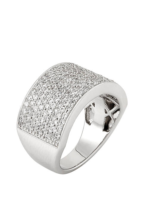 1.5 ct. t.w. Diamond Band Ring in Sterling Silver