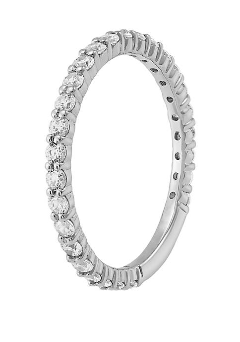 My Forever 1/2 ct. t.w. Diamond 3/4 Eternity Wedding Band in 10K White Gold