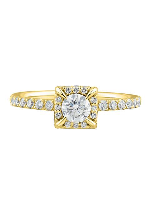 Belk & Co. 3/4 ct. t.w. Diamond Ring