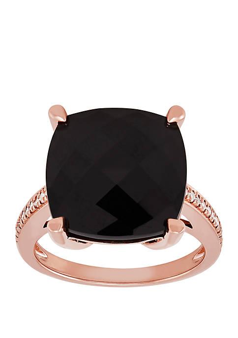 Belk & Co. 9.1 ct. t.w. Onyx Ring