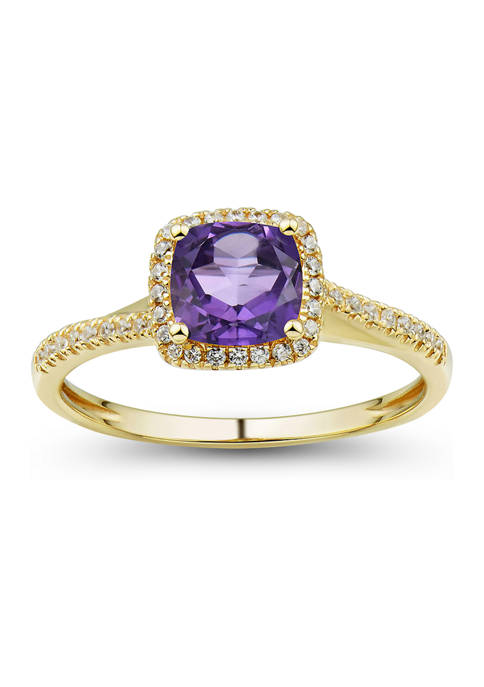 Belk & Co. 7/8 ct. t.w. Amethyst and