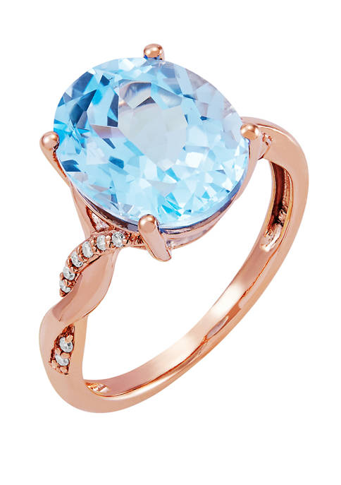 Belk & Co. 5.8 ct. t.w. Sky Blue