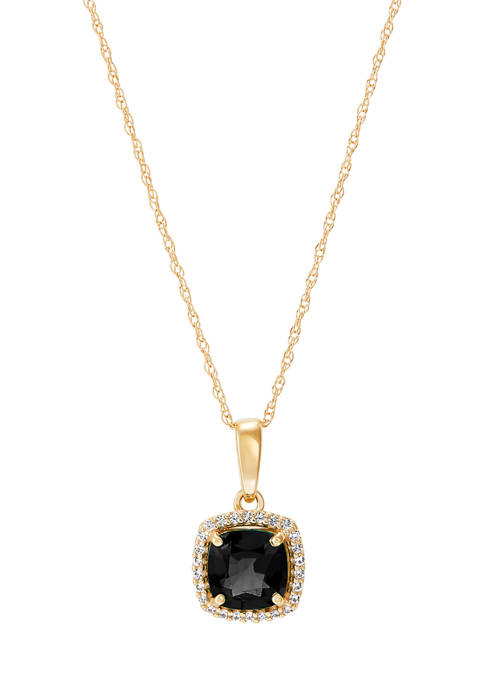 Belk & Co. 7/8 ct. t.w. Onyx and