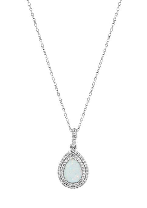 Belk & Co. Created Opal and Created White