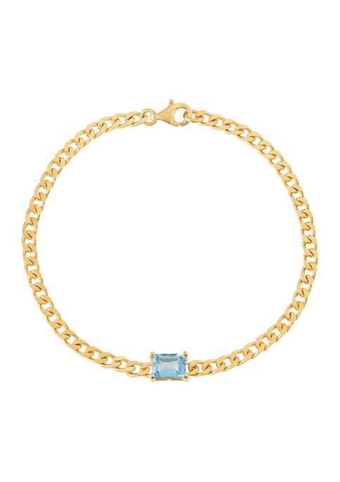 Belk & Co. Swiss Blue Topaz Chain in