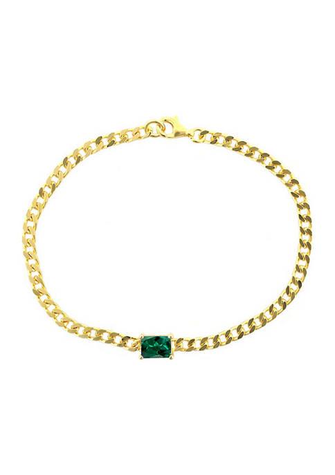 Belk & Co. Create Emerald Chain in Gold