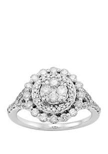 Belk & Co. 1 ct. t.w. Diamond Ring in 10k White Gold
