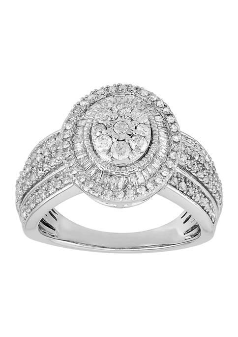 Belk & Co. 1 ct. t.w. Oval Diamond