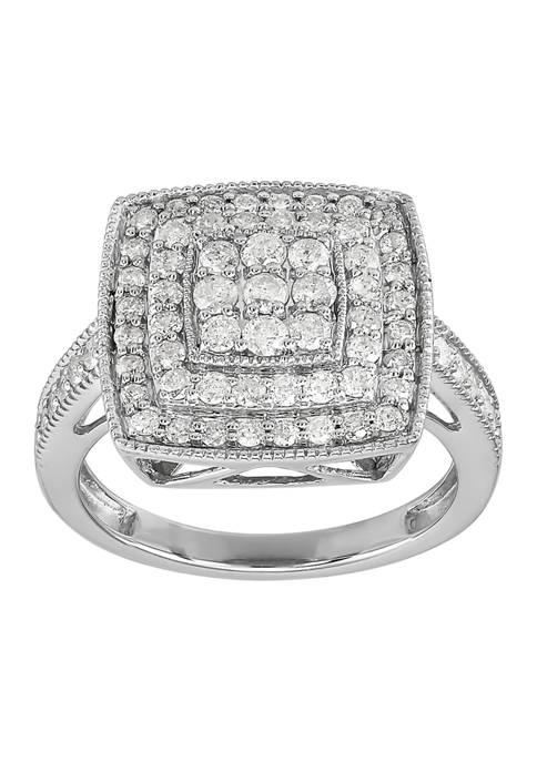 Belk & Co. 1 ct. t.w. Square Diamond